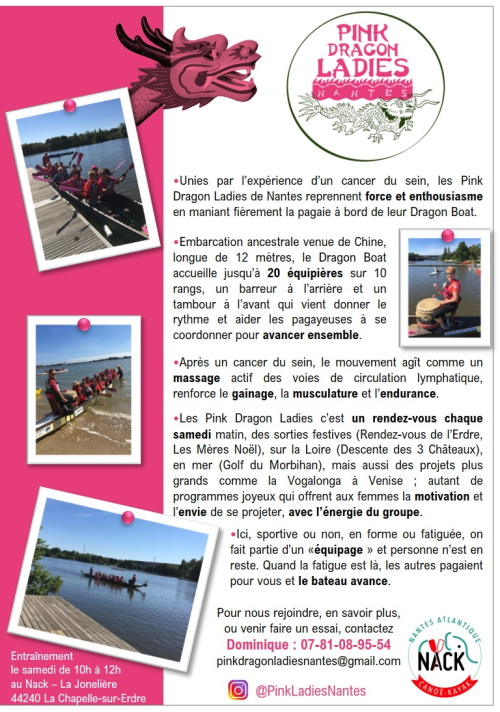 Flyer Pink Dragon Ladies Nantes
